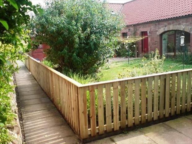 Ideias para o jardim com paletes 50 decoração Pinterest Palés - cercas para jardin