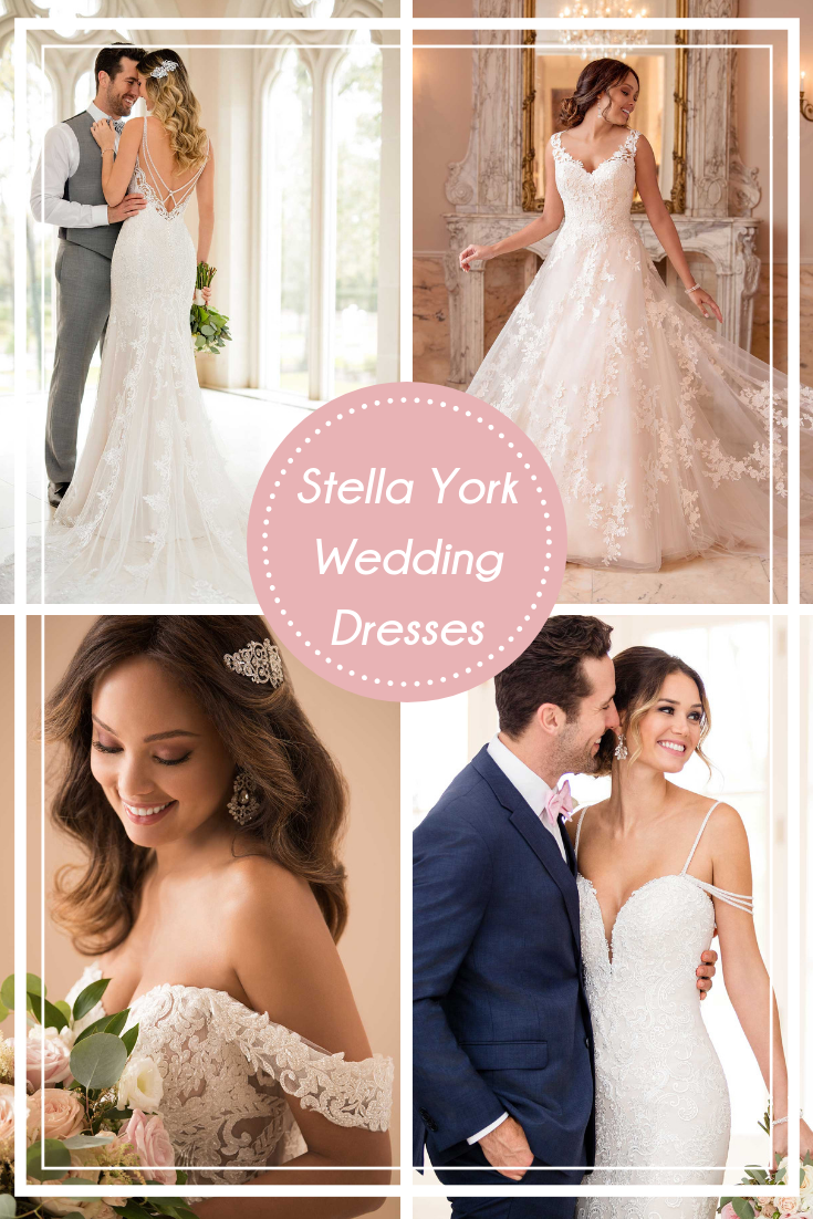 Designer wedding dresses stella york wedding dresses pinterest