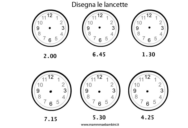 Extrêmement L'orologio - Lessons - Tes Teach KV77