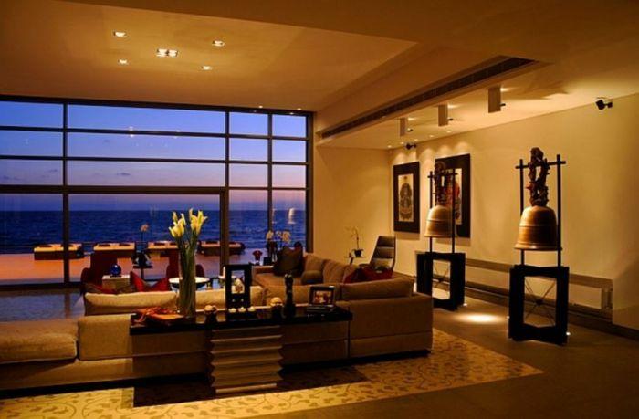 Einrichtungsbeispiele Raumgestaltung Wohnflair Asien Wohnung Einrichten Einrichtungs  Beispiele Asian Indien Geist Farbenfroh Singapore Traum