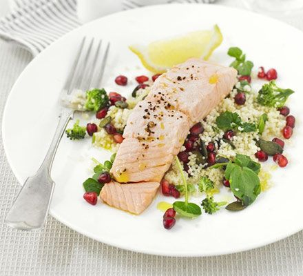 Superhealthy by name, superhealthy by nature: this salad is high in omega-3, iron and calcium and counts as 2 of your 5-a-day