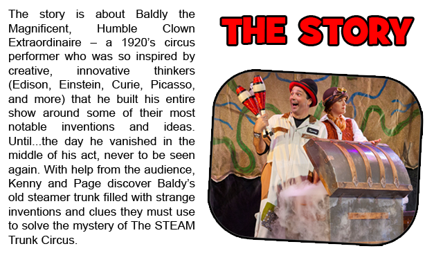 STEAM Trunk Circus - Kids' Steampunk Videos & Live Show | Indiegogo Inspiring Science, Technology, Engineering, Arts, and Math.