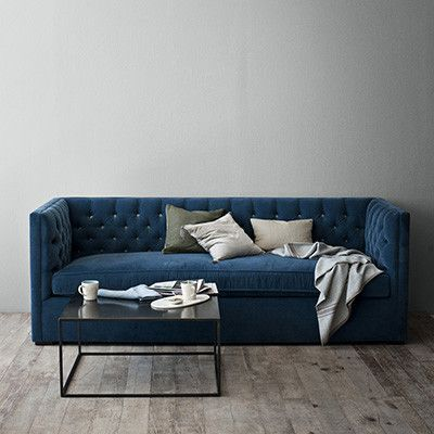 Lovely American Made Upholstered Sofa A Beautiful Mix Of Classic And Modern, Our  Capitonned Mercer