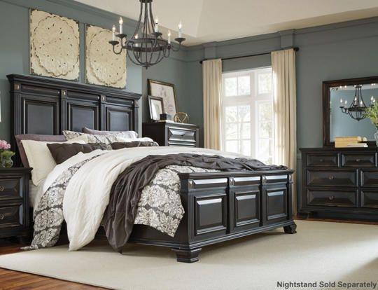 Passage 6pc King Bedroom Set - Art Van Furniture | House stuff ...