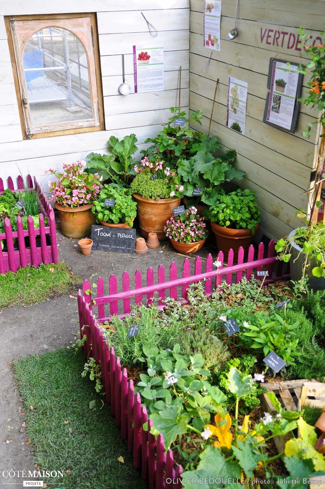 Jardin potager éphém¨re Garden Pinterest