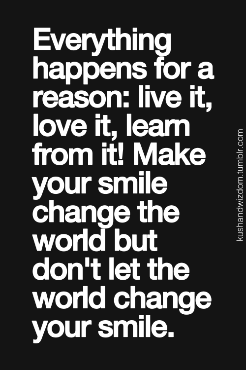 Everything Happens For A Reason Inspired Pinterest Quotes