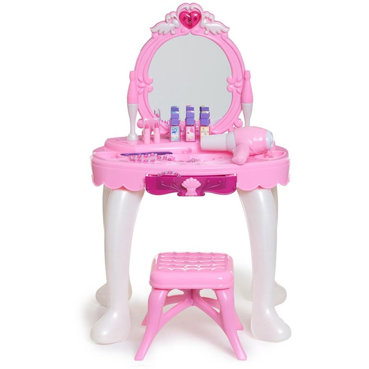 Full Function Vanity Set Role Play 0812x286 Kids Makeup Vanity Vanity Table Set Vanity Set
