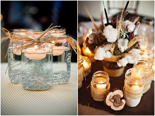 Ball Jar Wedding Decorations Mason Jar Lanterns And Candle Holders For Parties & Magical