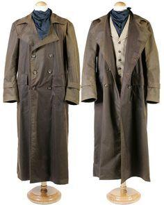 Old Fashioned Western Duster Jackets Men Fashion Leather Jacket Men Mens Jackets