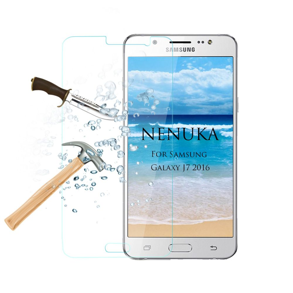 For Samsung J7 2016 Tempered Glass Screen Protector For Samsung J710 2016Style 2017 with 0.3mm Thickness