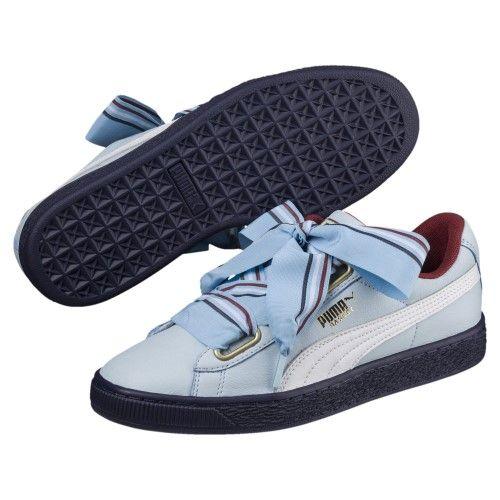 6a3528ee118 Puma Basket Heart New School Women s Sneakers Women