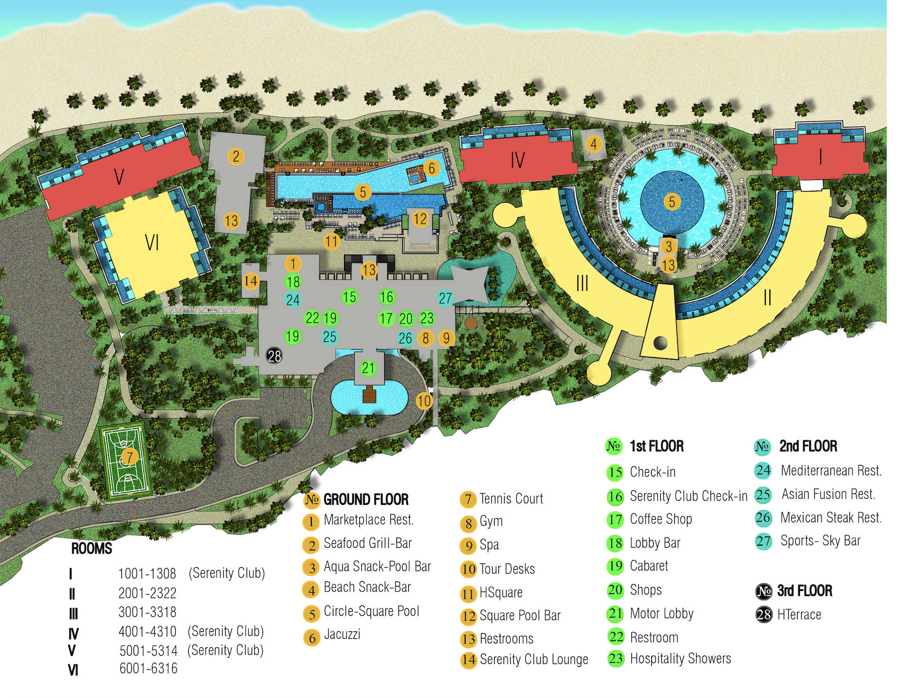 Our Amazing Resort S Layout Resort Plan Beach Restaurant Design Resort