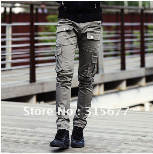mens cargo pants fashion and casual designer trousers new arrival ...