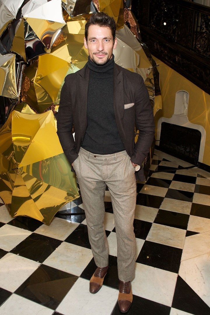 Gandy demonstrates why every man needs a rollneck this winter ... at Claridge's... at Claridge's demonstrates why every man needs a rollneck this winter ... at Claridge's... at Claridge'sGandy demonstrates why every man needs a rollneck this winter ... at Claridge's... at Claridge's