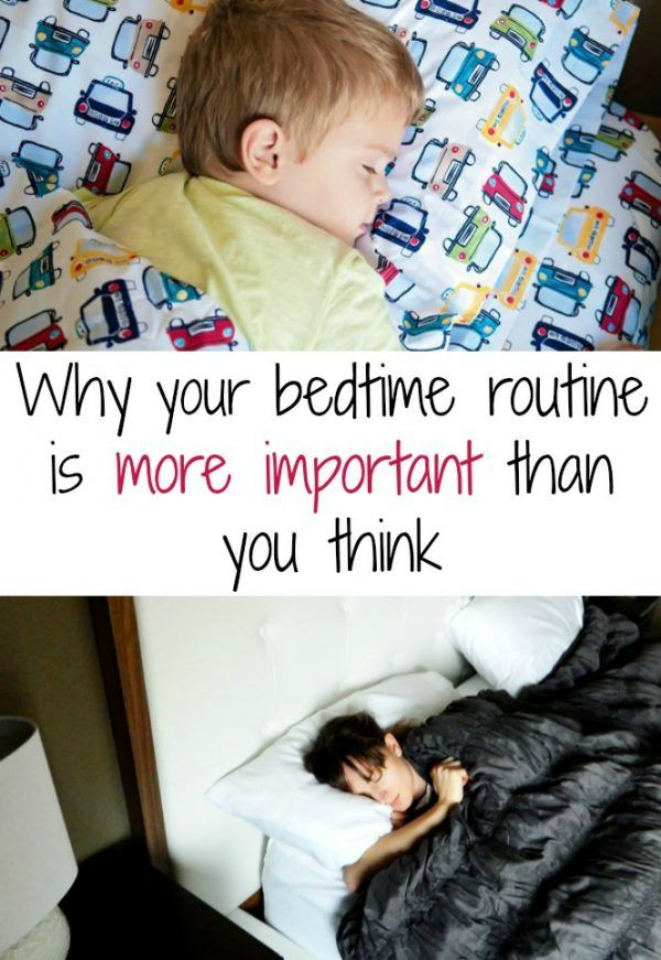 Why Your Bedtime Routine is More Important than You Think