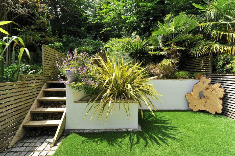 Brighton East Sussex The Modern House Sloped Garden Brighton Private Garden
