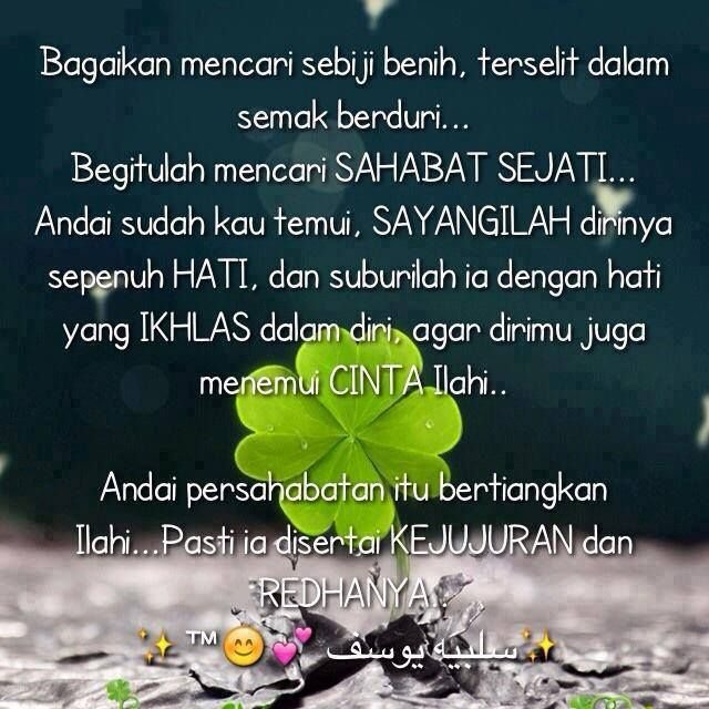 Sahabat Sejati Friendship Quotes Muslim Quotes Best