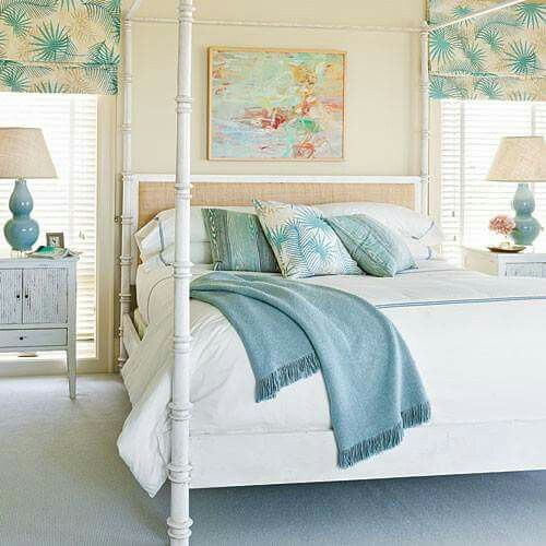 Beach Colors Surf And Sand With Images Coastal Bedroom
