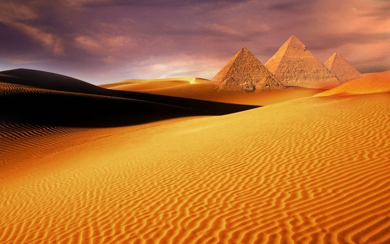 Egyptian Desert Fantasy | sand orange desert summer season ...