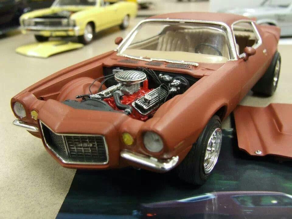 70 Camaro Mike S Car By Jim Zeiders Plastic Model Cars Model