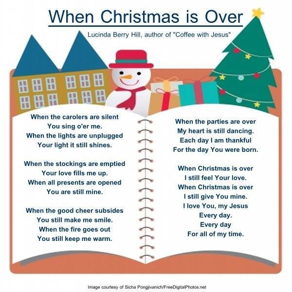when christmas is over - When Is Christmas Over