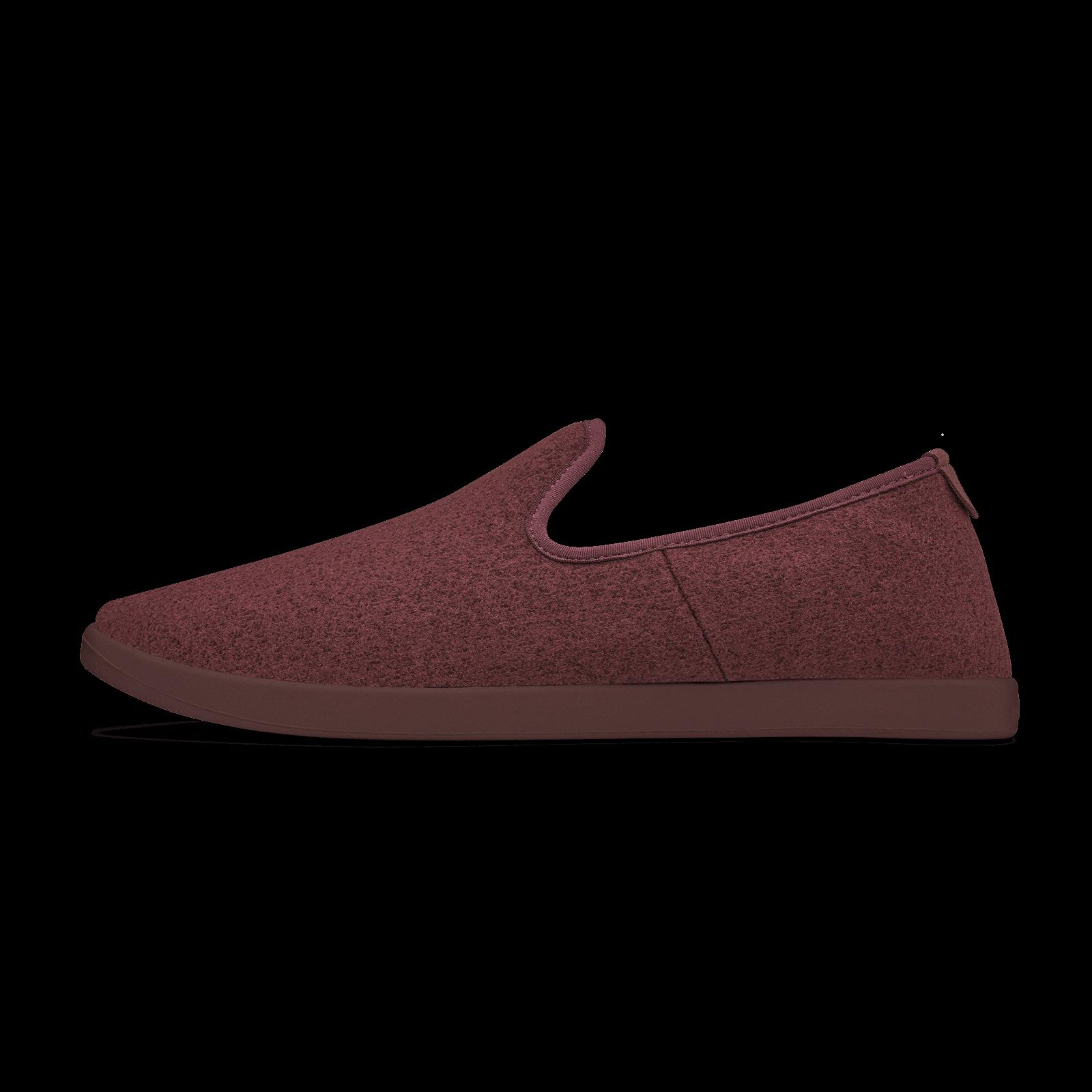 Allbirds Women/'s Wool Loungers Tuke Jam Maroon Comfort Shoes NW//OB