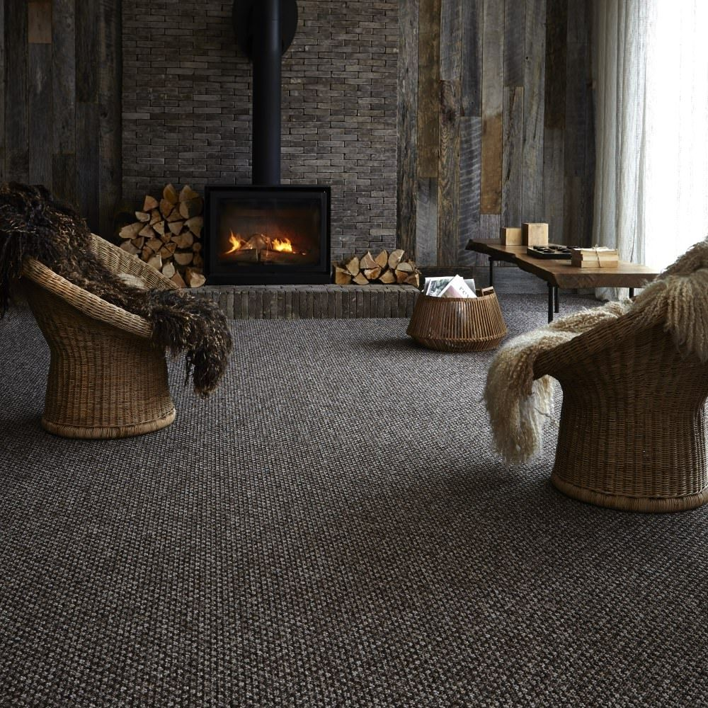 Simple Dark Grey Carpet Living Room Living Room Carpet ...