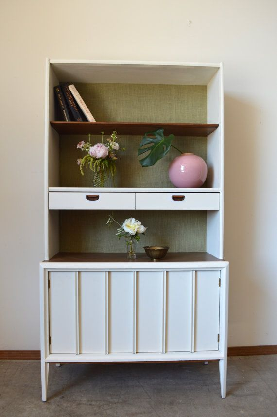 Do Not Purchase On Hold For Krystle Mid Century Modern Painted Hutch Boho Refinished Dining Room Storage