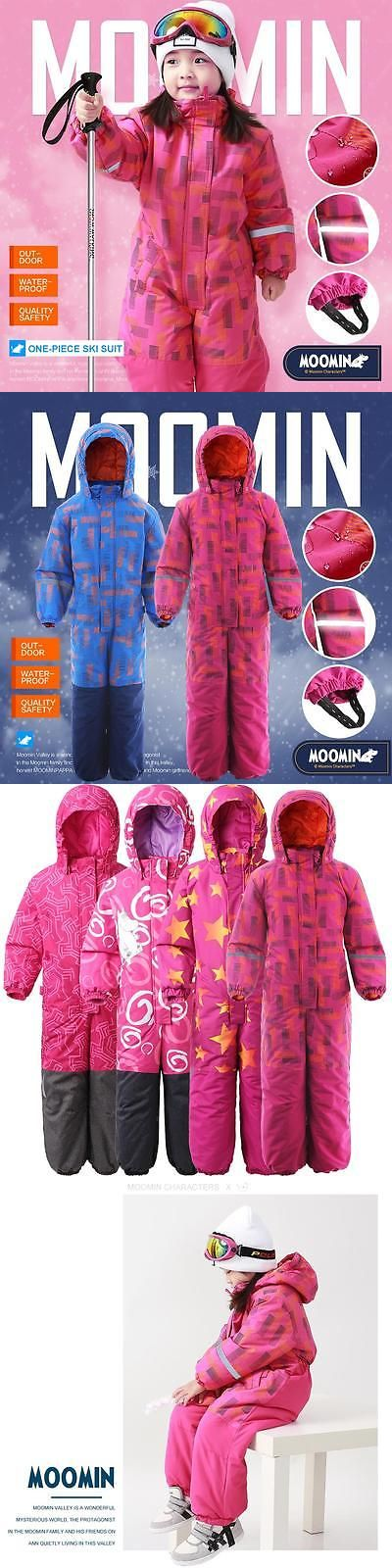2ae04ce9a Snowsuits 62178  Moomin Kids Girls Winter One Piece Ski Suit ...