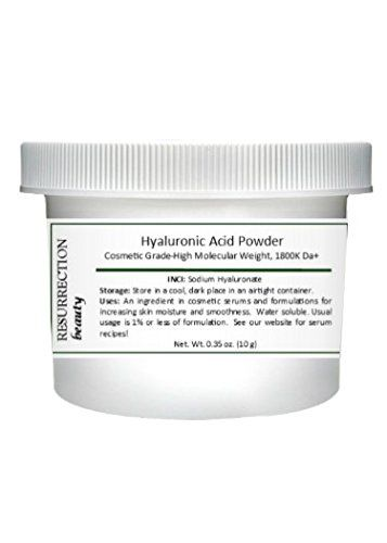 Pure Hyaluronic Acid Serum Powder (High Molecular Weight