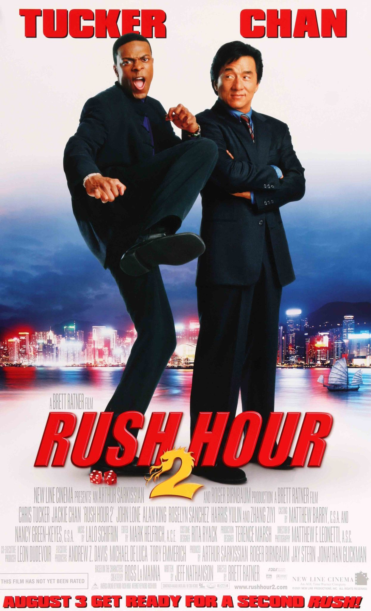 Rush Hour 2 (2001) Rush hour, Jackie chan, Chris tucker