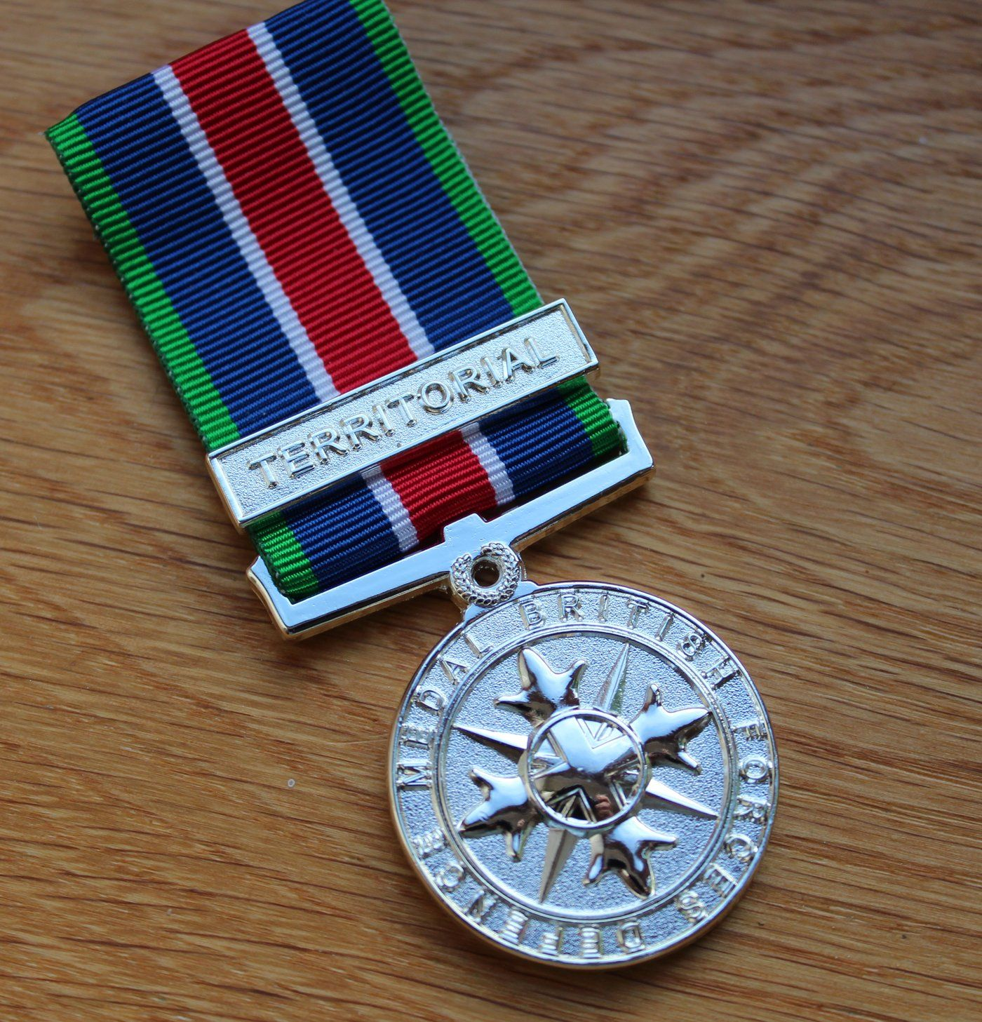 Territorial British Forces Defence Medal in 2020 Army