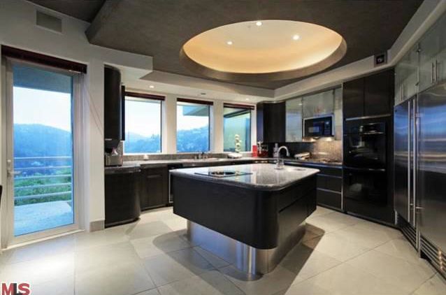 Modern Mansion Luxury Kitchens Rich Home House Rooms