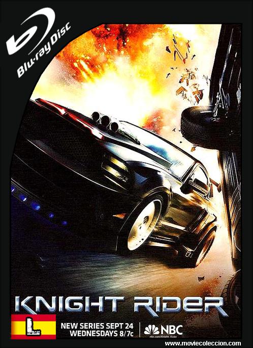 Knight Rider Temp 1 2008 720p Hd Latino El Coche Fantastico Series Autos Mustang