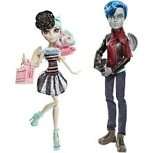 Monster High - Pack Love in Scaris - Garrott du Roque e Rochelle Goyle