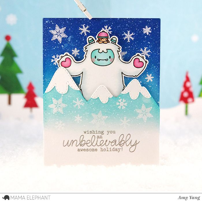 Handcrafted Cards Made With Love Pop-up card   christmas cards ...