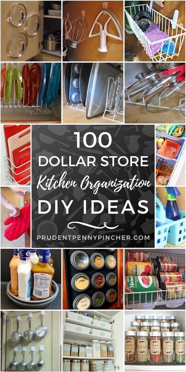 60 DIY Kitchen Cabinet Organization Ideas