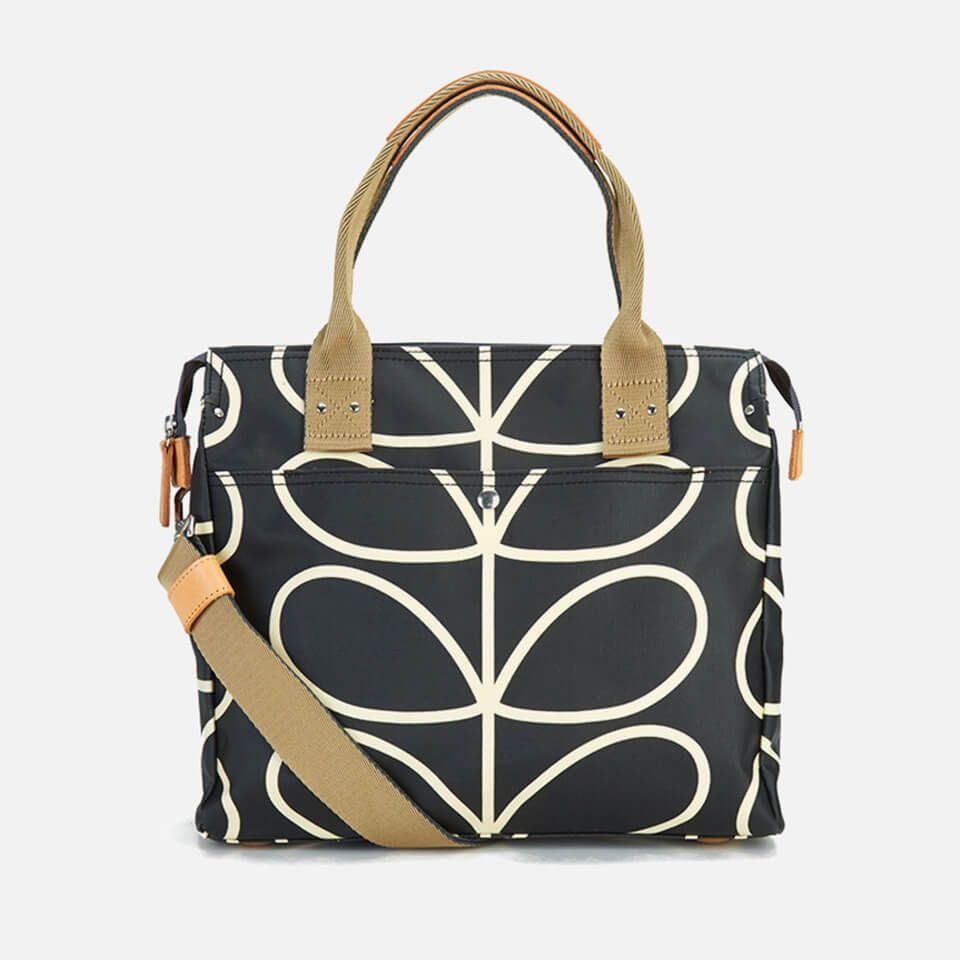 Womens Zip Messenger Messenger Bag Black (Jet) Orla Kiely l2uSzrN