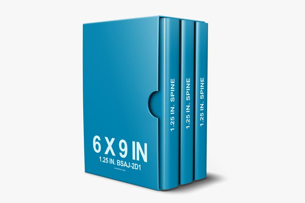 Download 6 X 9 3 Book Box Set Mockup Template Covervault Mockup Template Free Business Card Mockup Box Mockup