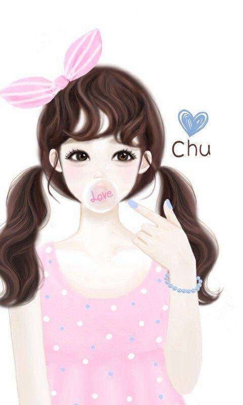 Pin By Christiestars On Anime Enakei Girly Drawings Cute Girl