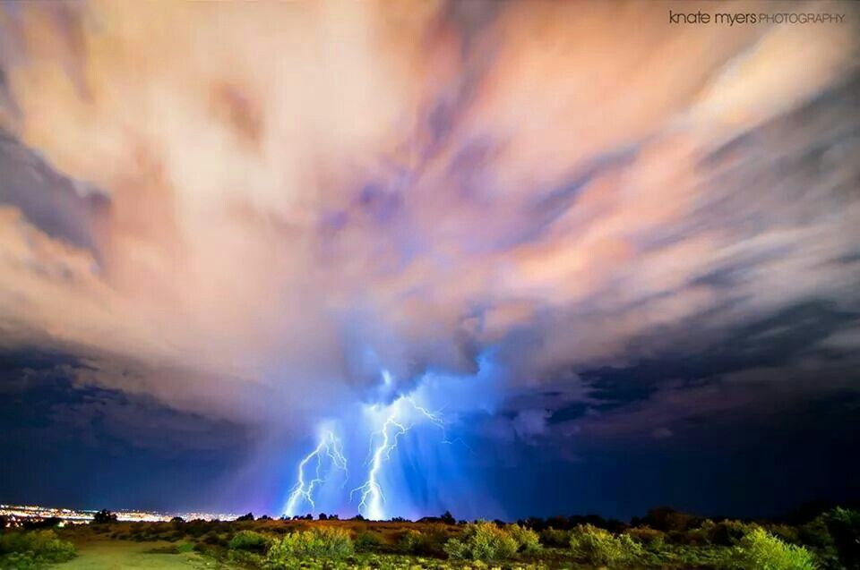 NM storm. ©KnateMyers Photography