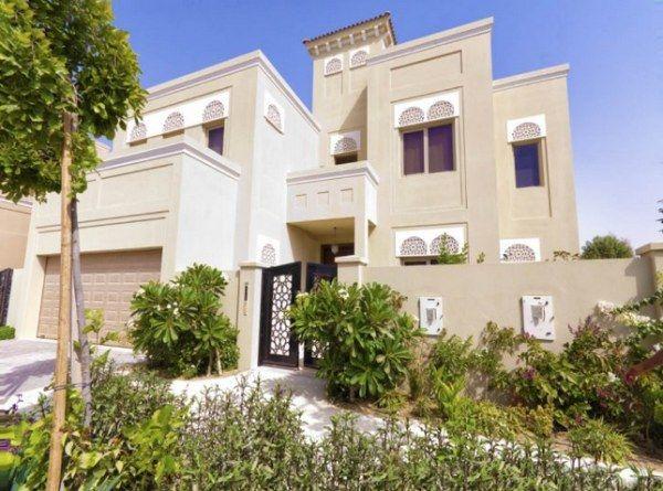 7 Modern Arabic Villa Designs That Celebrate Opulence Villa Design Dubai Houses Exterior Design