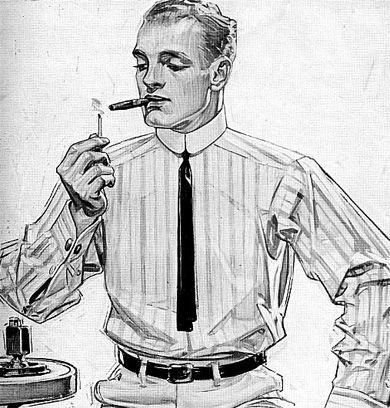 illustration by J.C. Leyendecker