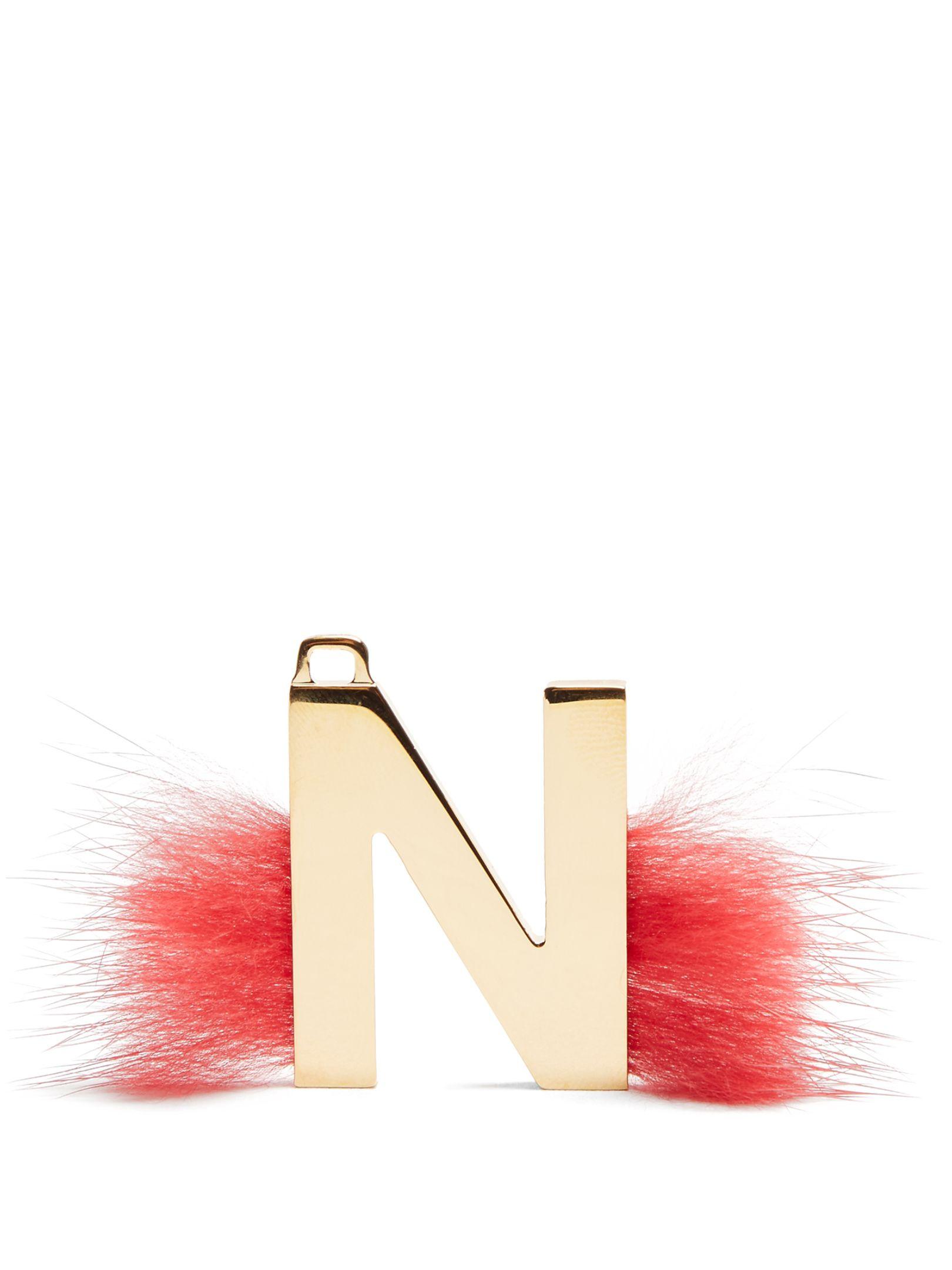 abclick letter n key charm fendi matchesfashion com
