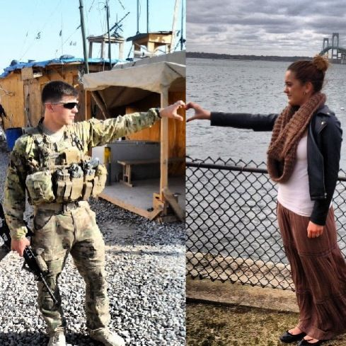 amor militar a distancia