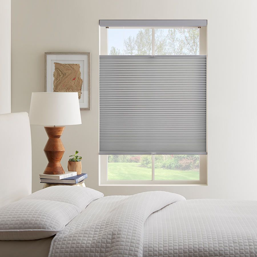 With Child Safe Cordless Top Down Bottom Up Cell Shades From