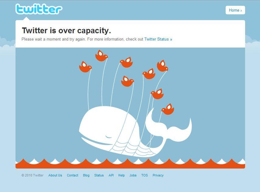 Excellent Example Of Error 502 Design Go Twitter Twitter
