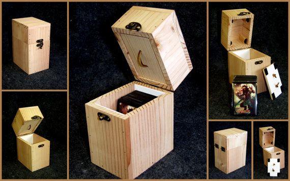 Magic The Gathering Diy Deck Box Deck Box Magic The Gathering