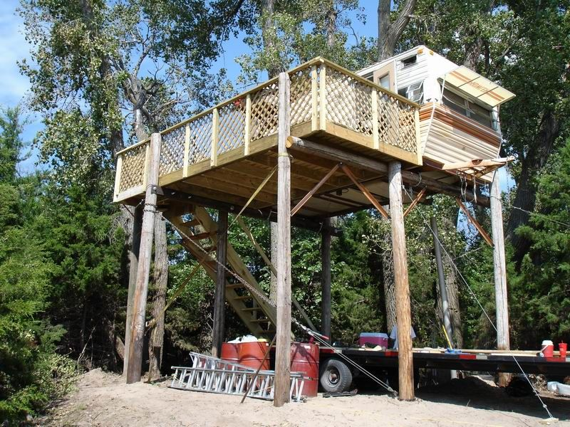 diy how to build a deer stand read party shack diy