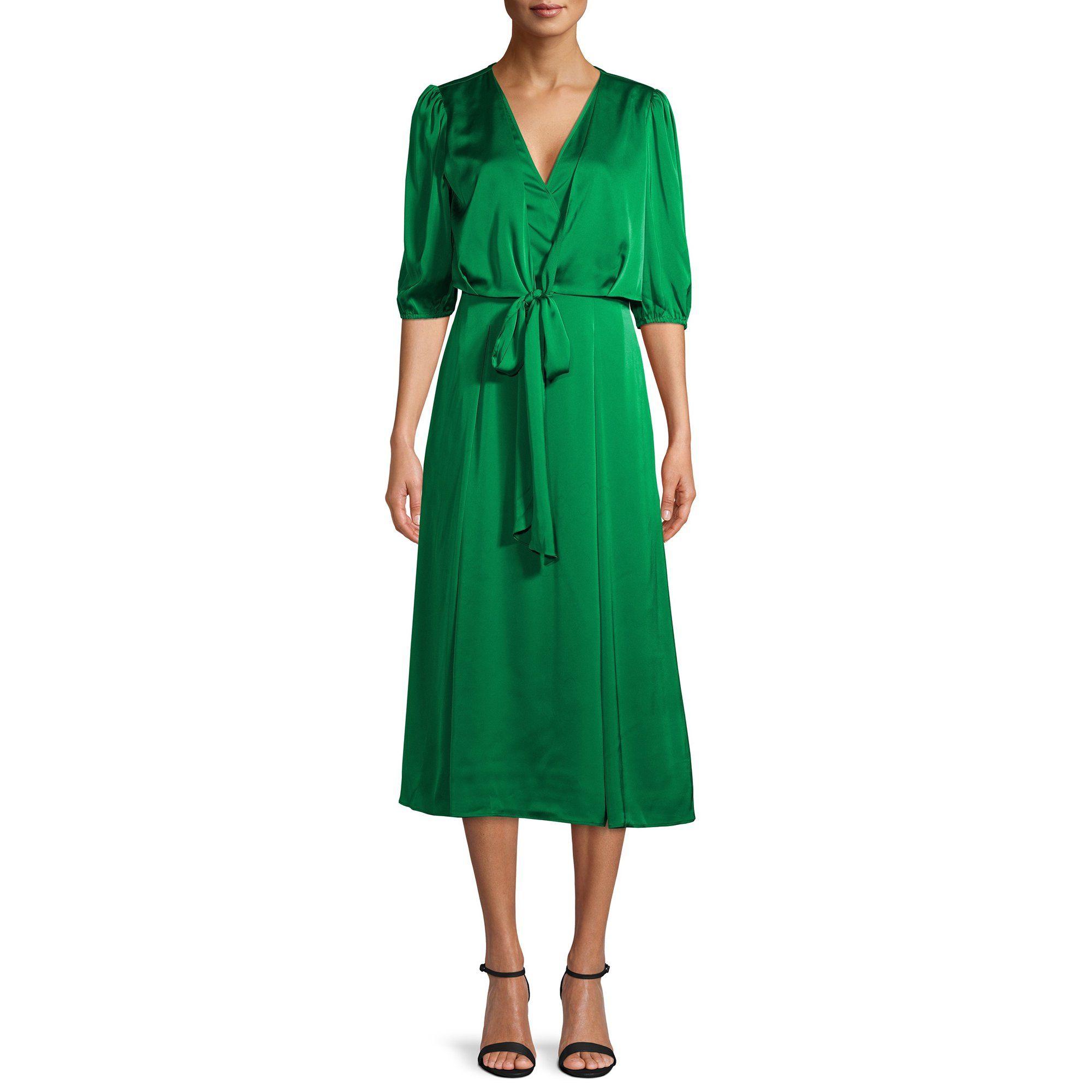 Prospect The Label Prospect The Label Women S Tie Front Dress Walmart Com Tie Front Dress Womens Tie Dresses [ 2000 x 2000 Pixel ]